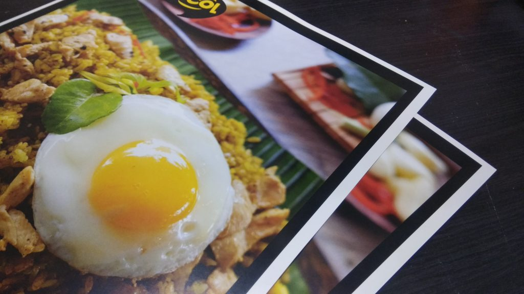Poster makanan